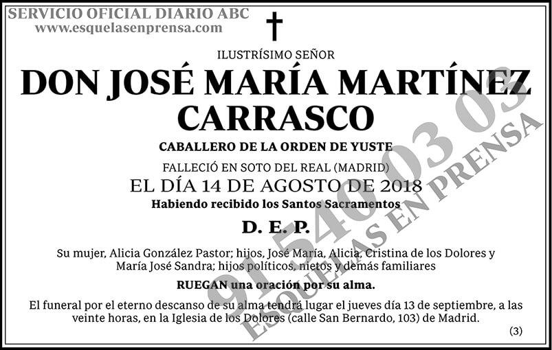 José María Martínez Carrasco